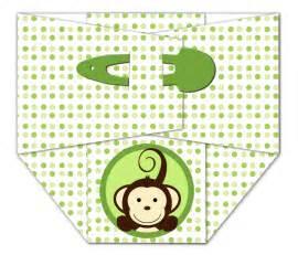 monkey baby shower invitations babyshower4ublogdotcom