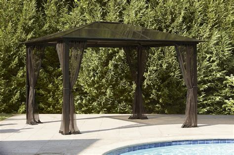 Hardtop Patio Gazebo by Essential Garden Replacement Net For Mission Creek Hardtop