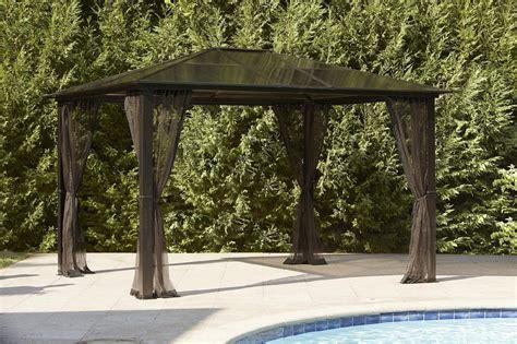 Essential Garden Replacement Net For Mission Creek Hardtop Hardtop Patio Gazebo