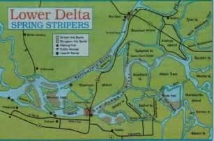 california delta fishing map sacramento river fishing map images