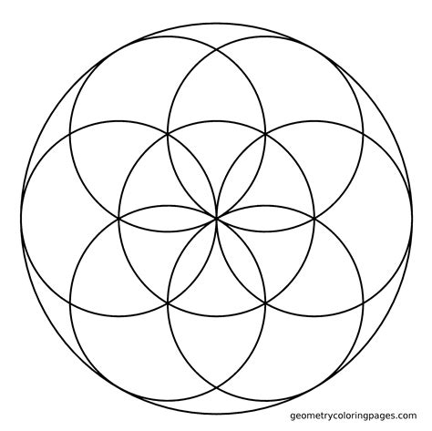 sacred geometry coloring book sacred geometry coloring page seed coloring books
