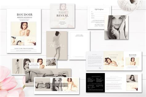 21 Photography Magazine Templates To Promote Your Business Filtergrade Boudoir Photography Marketing Templates