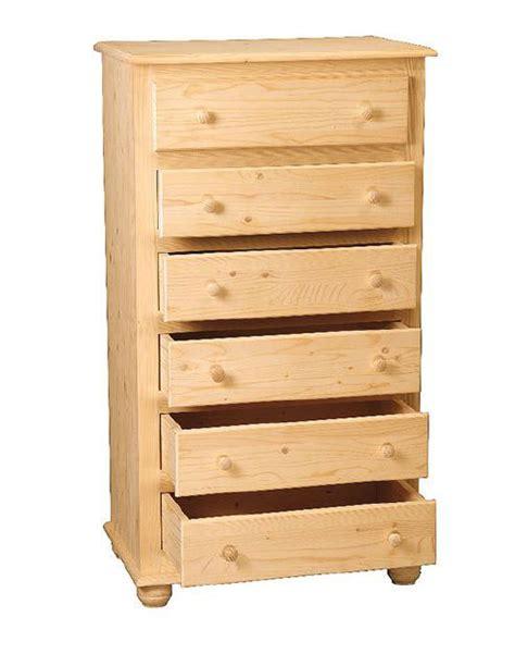 cassettiere in legno grezzo cassettiere 242 e comodini cassettiera in legno