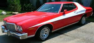 Starsky And Hutch Ford Venta Coche Cl 225 Sico Muscle Car Ford Grand Torino Coupe