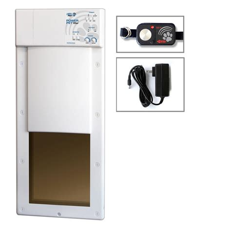 Electronic Doors For Large Dogs by High Tech Pet 12 In X 16 In Power Pet Large Electronic Fully Automatic And Cat Electric