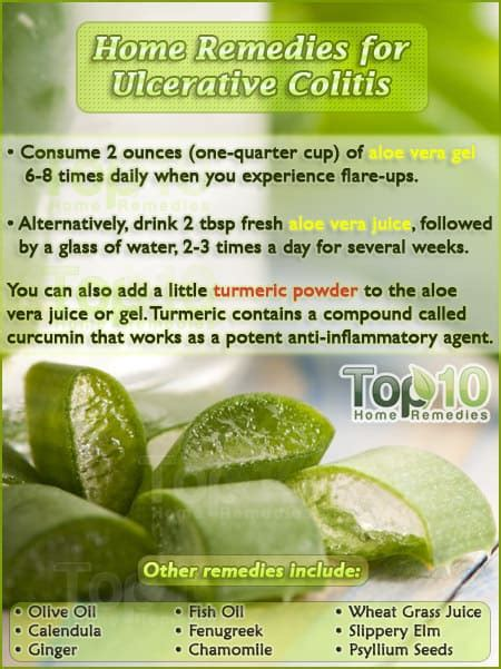 home remedies for ulcerative colitis top 10 home remedies