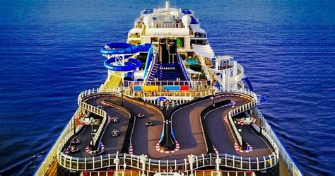 norwegian cruise ship bliss cruise ship with a go kart track is coming to miami later