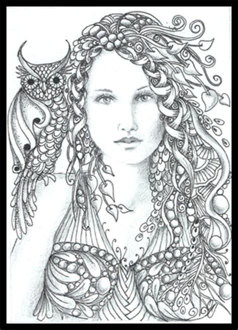 printable zentangle legend from my board artist norma j burnell coloring