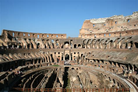 of rome colosseum the arena of and of the rome