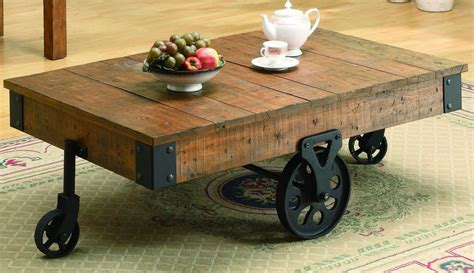 wood coffee table with wheels reclaimed wood coffee table design images photos pictures