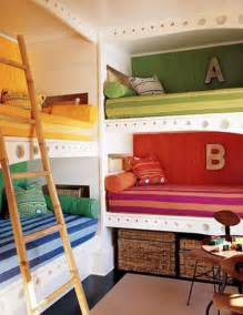 Bunk Bed Kids Room by Hollywood Cape Cod Built In Bunk Beds