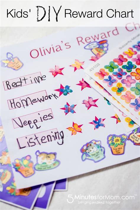 Diy Reward Chart For Kids Printable Diy Printable | diy kids rewards chart