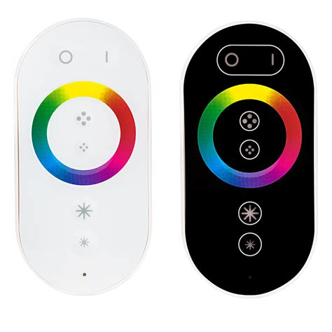 Led Rgb Remote rgb led controller wireless rf touch color remote with dynamic color changing modes 8 s