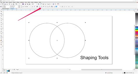 tutorial corel draw x7 tutorial menggunakan shaping tool di coreldraw x7
