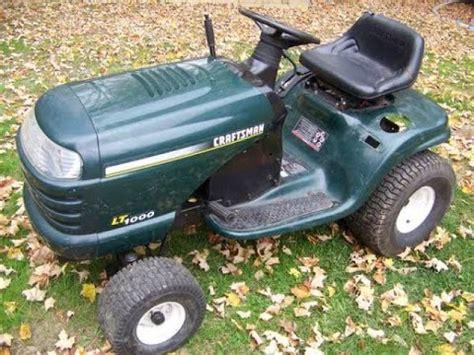 craftsman lawn tractor won t start craftsman lt1000 won t start repaired youtube