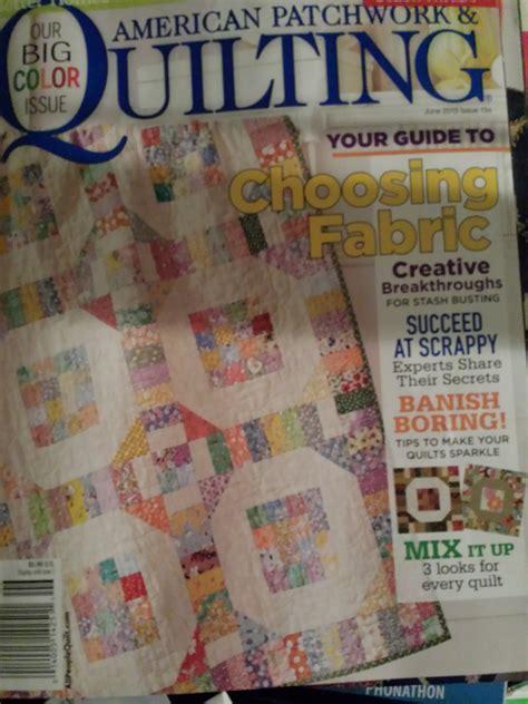 American Patchwork Magazine - quilt inspiration 30 something artquiltmaker
