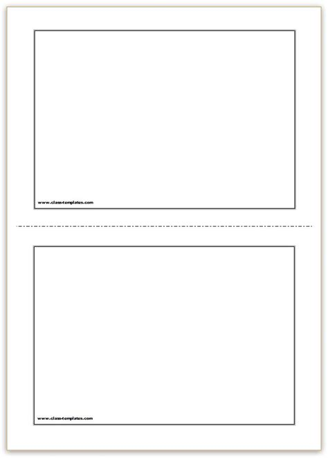 flash card template word template business
