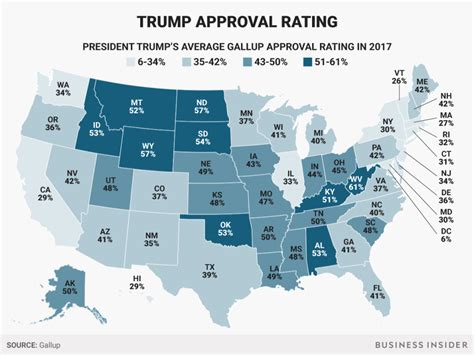 St Of Approval by Here S S Approval Rating In Every State Business