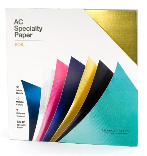 Craft Paper Cardstock - american crafts 12 x 12 specialty cardstock pack 30