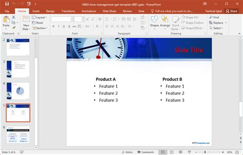 ppt templates for time management free download free time management powerpoint template
