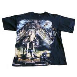 T Shirt The Iron iron maiden t shirt blue 17 vintage fashion