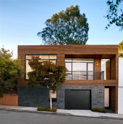 modern hill house designs hill house contemporary exterior san francisco by