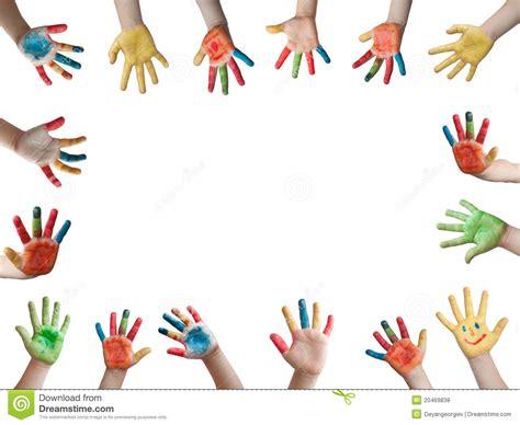 Imagenes De Uñas Pintadas Manos | manos pintadas ni 241 os fotos de archivo libres de regal 237 as