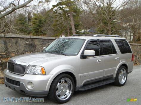 2003 lincoln navigator 4x4 2003 lincoln navigator luxury 4x4 in silver birch metallic