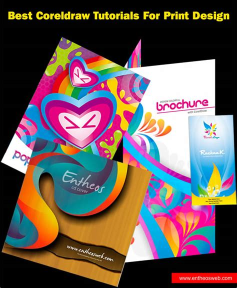 coreldraw templates for posters best coreldraw tutorials for print design entheos