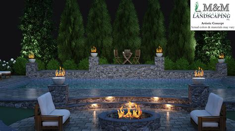 3d Landscape Design Services In Northern Virginia M M 3d Garden Design