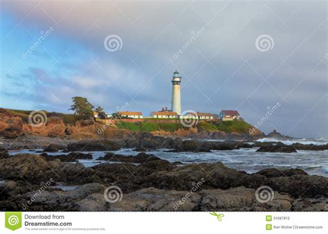 san francisco lighthouses map pigeon point lighthouse stock photography image 31697812