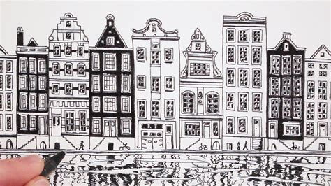 draw house how to draw a house view of amsterdam house