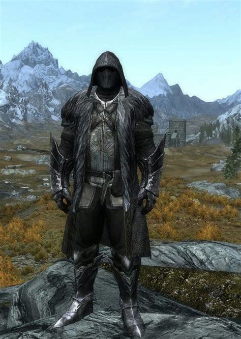 skyrim armor and clothing quot evil overlord quot by ocean splitter ulfric s clothes ebony