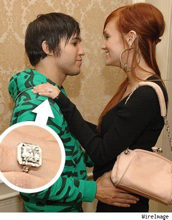 Pete Wentz Gives Ashlee A Promise Ring by Ashlee Singer Pic Ring Tmz