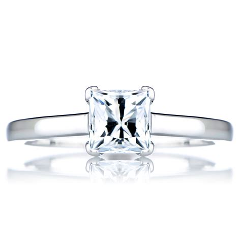 s promise ring 1 ct princess cut cz
