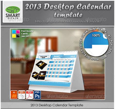 desktop calendar template new year 2013 calander templates 40 free and premium