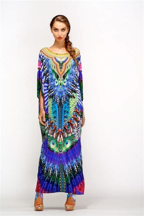 camilla kaftans new camilla franks swarovski huastecan side split jungle kaftan dress