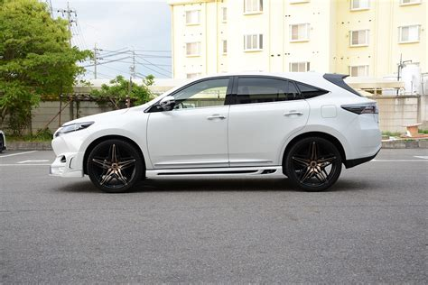 harrier lexus tuned toyota harrier by rowen looks like a sporty lexus rx