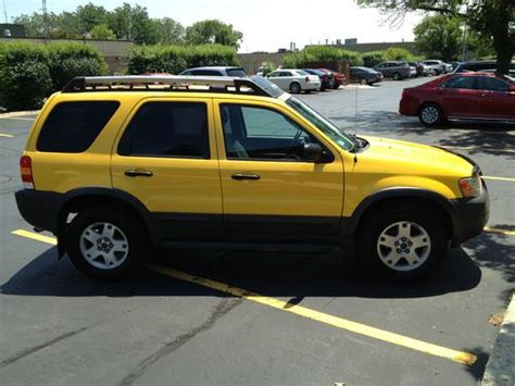 books about how cars work 2003 ford escape engine control buy used 2003 ford escape xlt in oak brook illinois united states for us 4 950 00