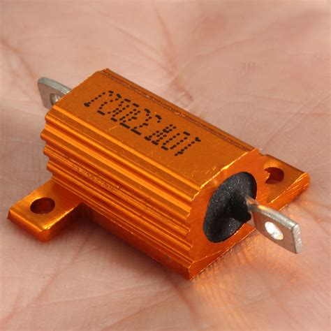 10w 300 ohm resistor other printer supplies accessories 10w 300 ohm 5 aluminum wire wound power resistor metal