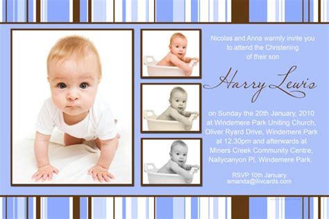 unique invitation card design for christening baptism christening and naming invitations for boys with