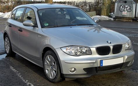 Bmw 1er E87 Wiki by File Bmw 1er Front Jpg Wikimedia Commons