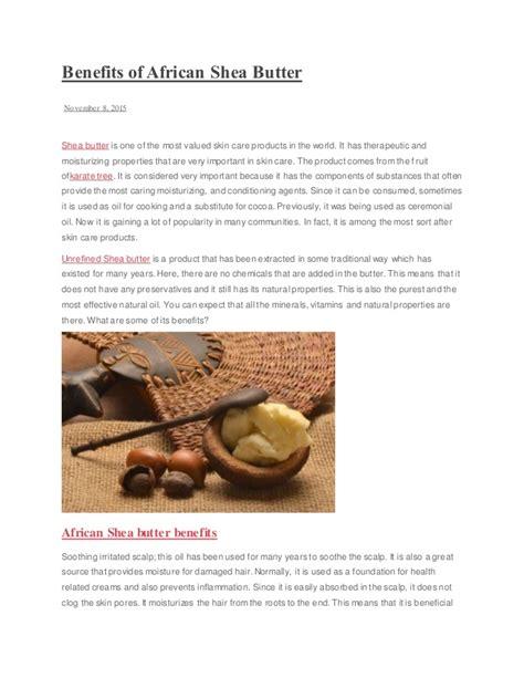 Shea Butter Benefits by Benefits Of Shea Butter