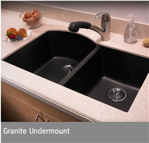 HomeOfficeDecoration   Black granite sinks undermount