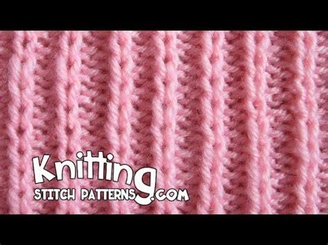 Slip Stitch Rib P2 K1 Easy