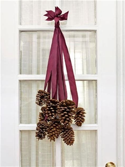 christmas crafts hanging pine cones dump a day