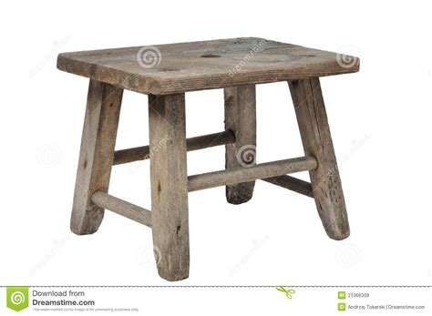 alter schemel stool royalty free stock images image 21066309