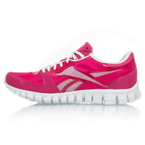 reebok womens running shoes reebok realflex optimal womens running shoes pink