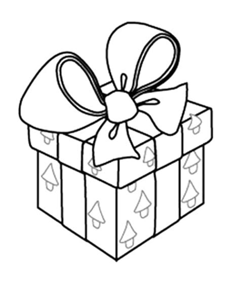 coloring pages of a christmas present christmas present coloring pages wallpapers9