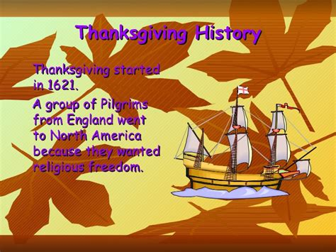 thanksgiving day show thanksgiving day presentation